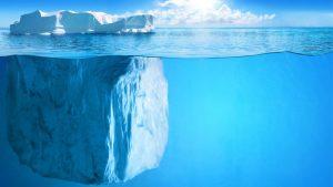 Prozentsatz Eisberg