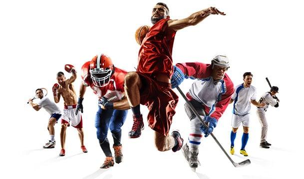 Prozentsatz berechnen Sportler
