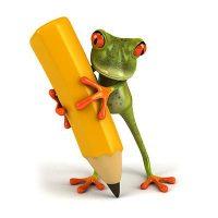 Frosch-vektoren-begriffe-grundlagen