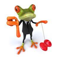 frosch-ausklammern