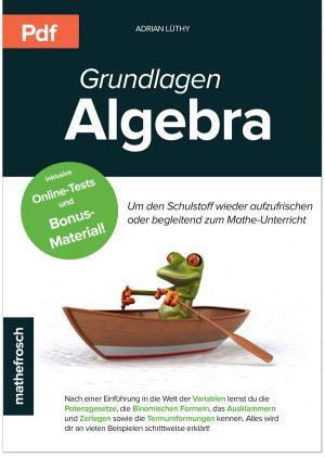 Vorlage-Produktbild-Ebook-Algebra
